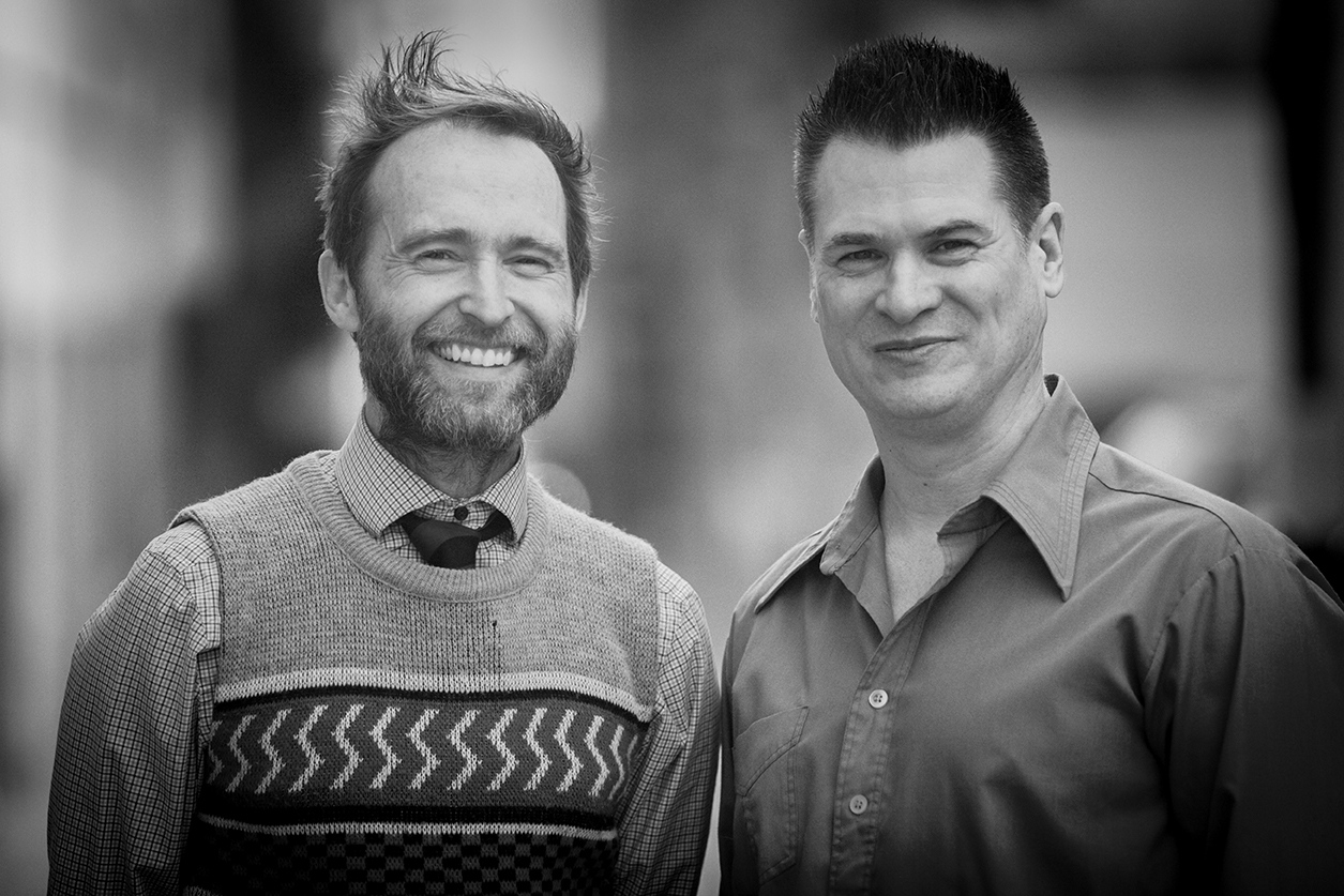 Craig Downing (left) and Kris Kristensen (right); Creative Co-Directors of Smarthouse Media