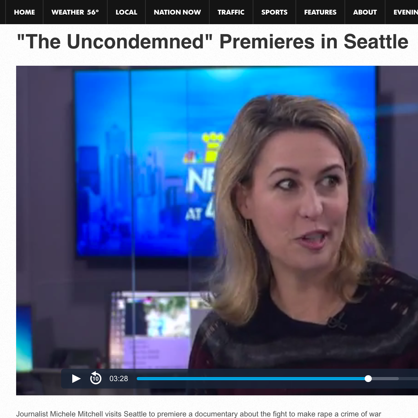 THE UNCONDEMNED  Seattle & Bellingham theatrical premiere