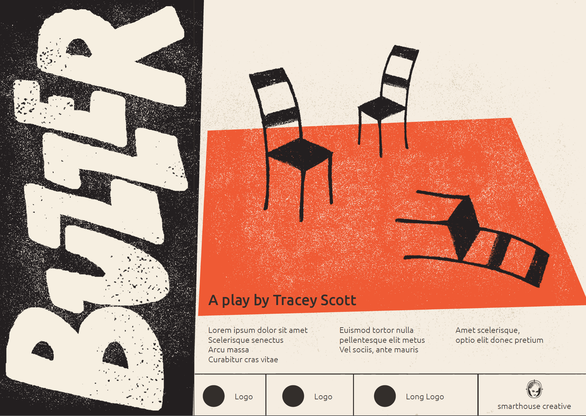 BUZZER  Poster mock ups for theatrical production