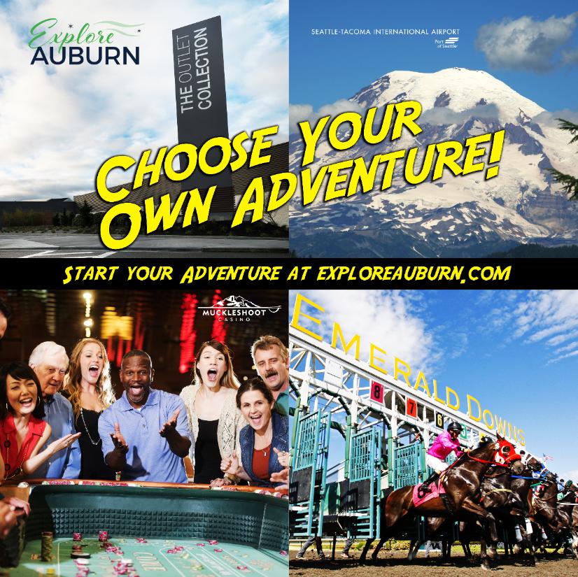 EXPLORE AUBURN  Lightbox advertisement