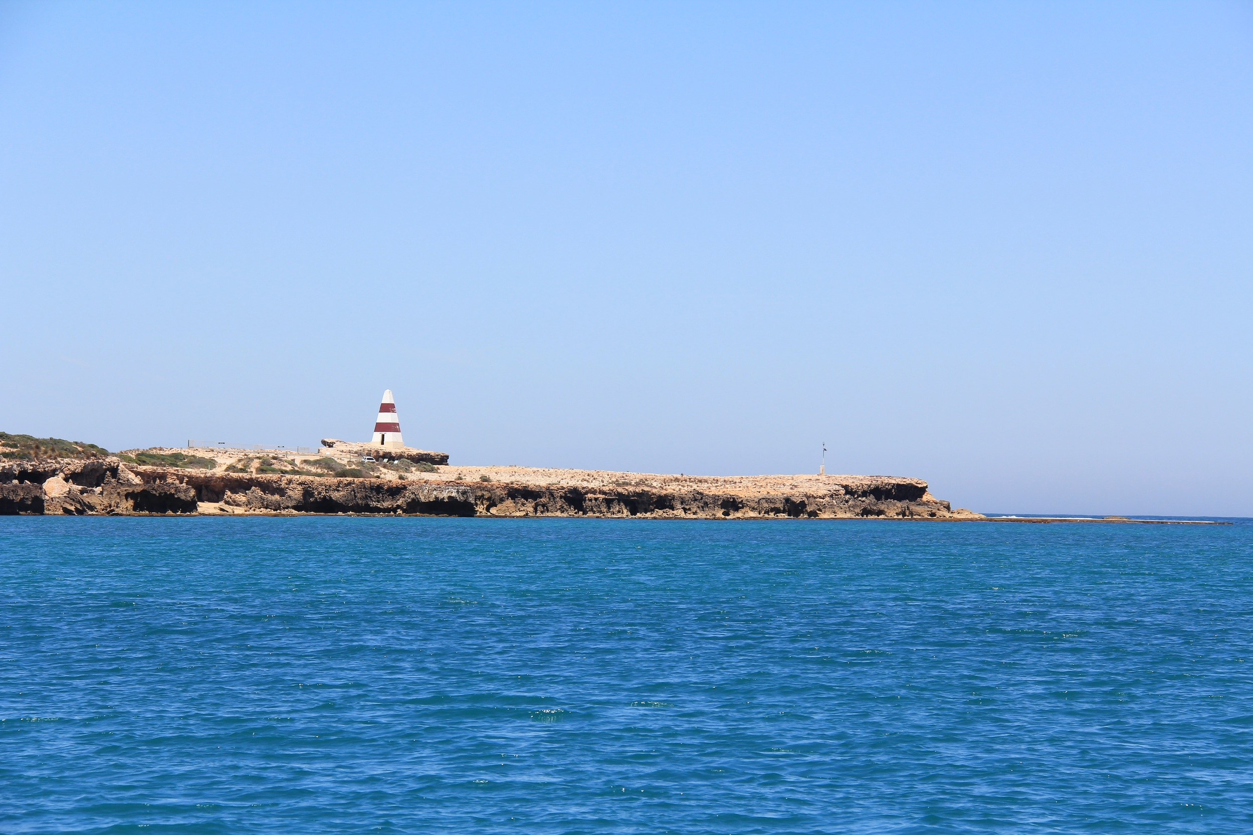 A view of the Robe Obelisk from sea