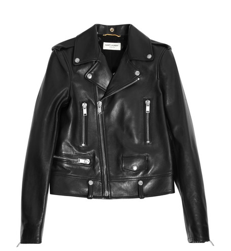 SAINT LAURENT Leather biker jacket $4,990