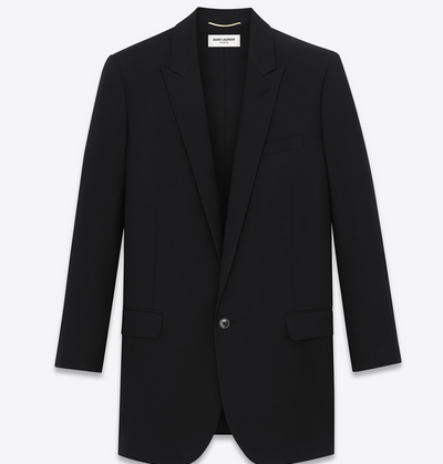 SAINT LAURENT SINGLE BREASTED JACKET $2,450