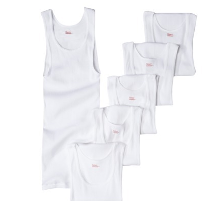 Hanes Men's 6pk Tanks - White  $14.99