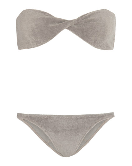 Lisa Marie Fernandez Terry Cloth Bikini $330