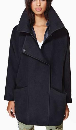 Nasty Gal Coletta Coat $120