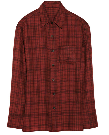 THE ELDER STATESMAN Plaid shirt $1,730
