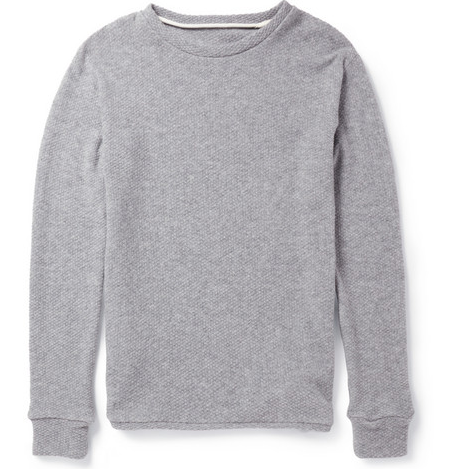 THE ELDER STATESMAN THERMAL SWEATER $965