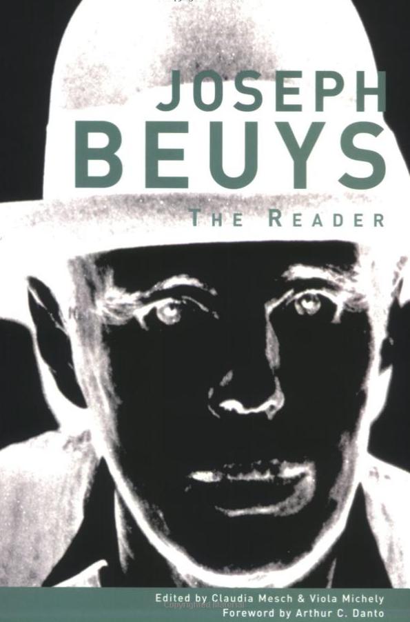 Joseph Beuys: The Reader $28