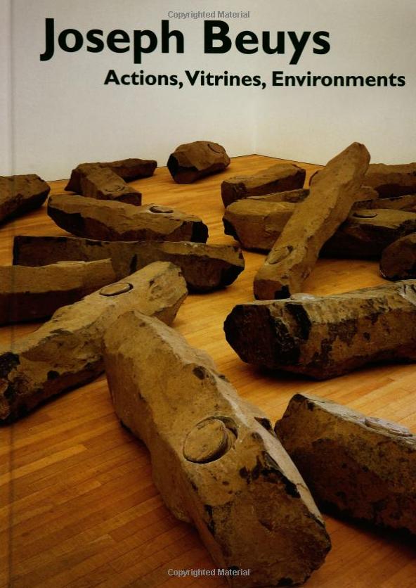 Joseph Beuys: Actions, Vitrines, Environments Book $50