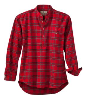Grandfather's Flannel Shirt $45