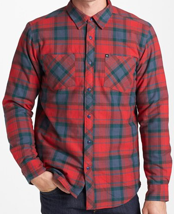 Quicksilver Flannel $40