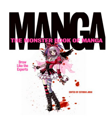 The Monster Book of Manga: Draw Like the Experts $20