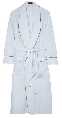 Emma Willis Linen Dressing Gown $980