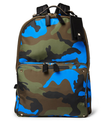 Valentino Camouflage Backpack $1695