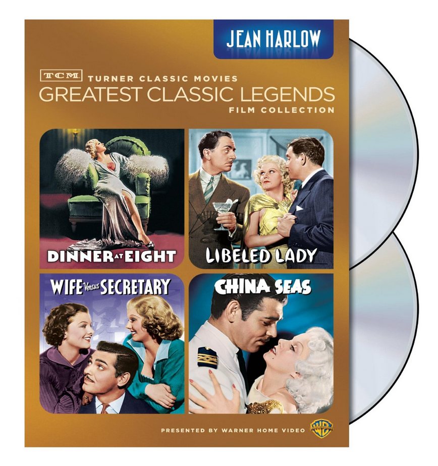 Jean Harlow TCM Collection of DVDs $11