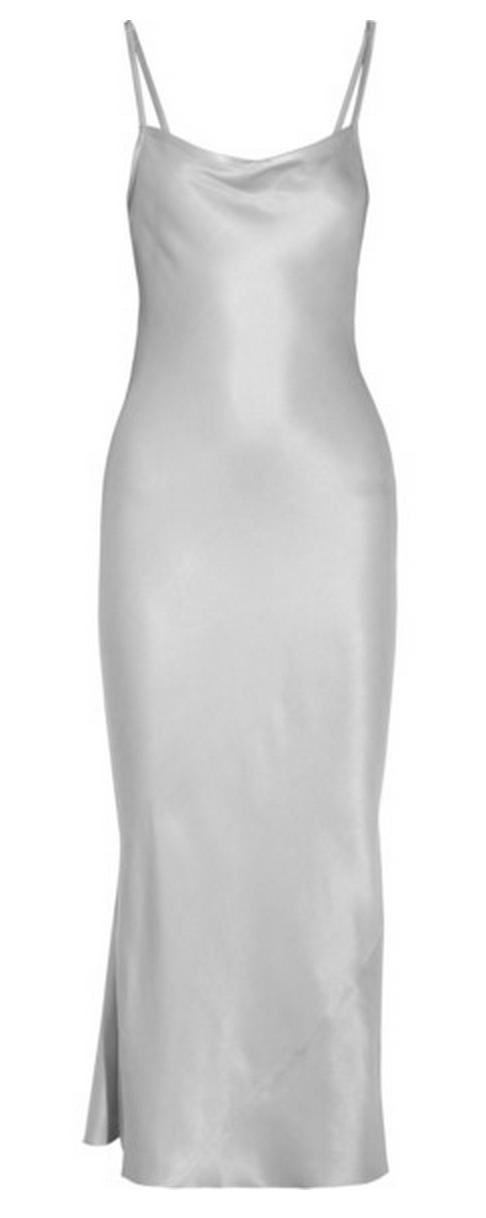 Joseph Washed Silk Slip Dress $615