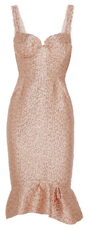 Lanvin Metallic Dress $3,990