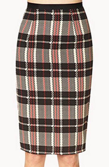 Forever 21 Retro Plaid Skirt $17.80