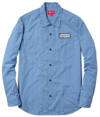 Striped Work Shirt $128