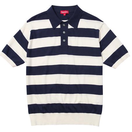 Striped Polo Sweater $128
