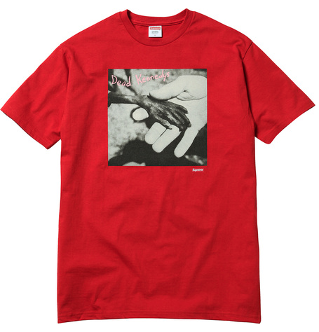 Supreme/Dead Kennedys Plastic Surgery Disasters Tee $38