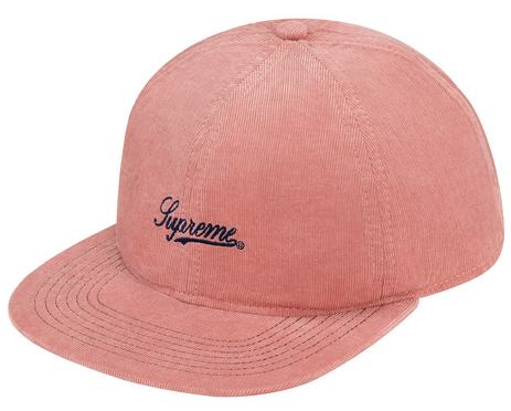 Fitted Lightweight Cord 6 Panel $40