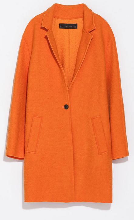 Zara Wool Coat $119