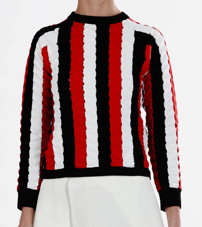 JW Anderson Wave Raglan Sweater $1210