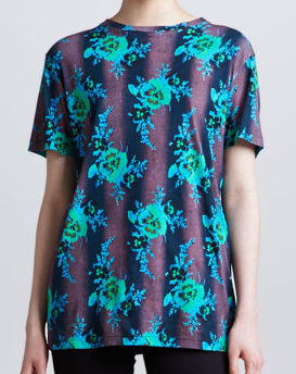 Christopher Kane Floral Knit Tee $108