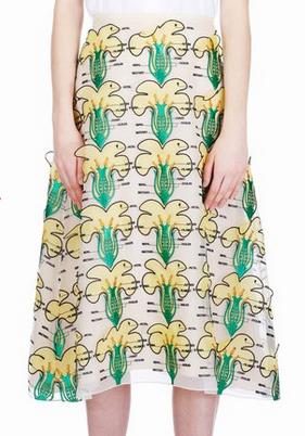 Christopher Kane Buttercup Skirt $2875