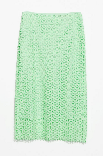Zara Lace Pencil Skirt $79.90