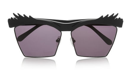 HOUSE OF HOLLAND Eyelashes square-frame acetate sunglasses $300