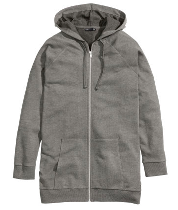 H&M Long Hooded Jacket $24.95