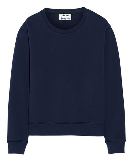 Acne Studios Cotton/terry Sweatshirt $190
