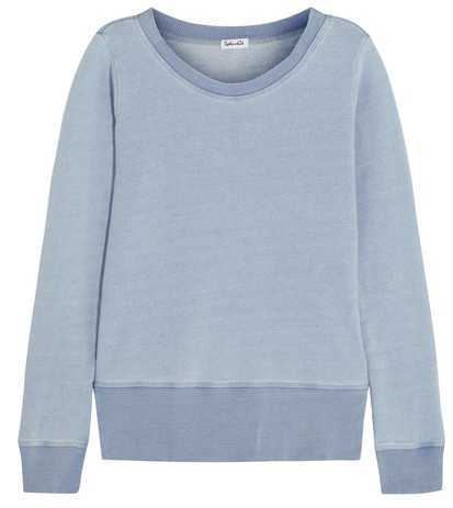 Splendid Cotton/terry Sweatshirt $130
