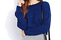 Forever 21 Cropped Sweater $15.80