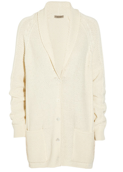Bottega Veneta Knitted Cotton Cardigan $2.200