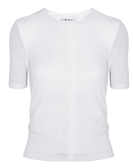 T by Alexander Wang Matte Jersey Top $245