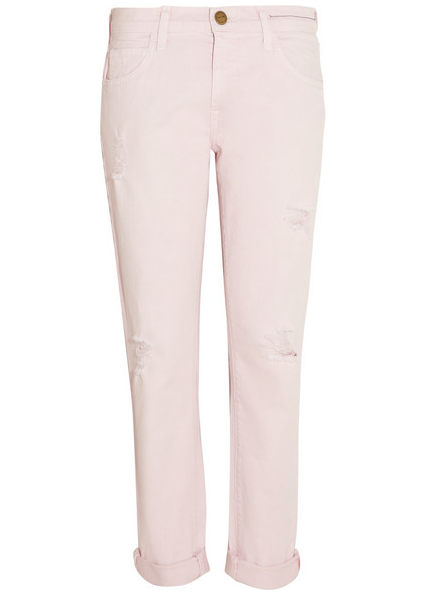 Current/Elliott Mid-Rise Boyfriend Jeans $230
