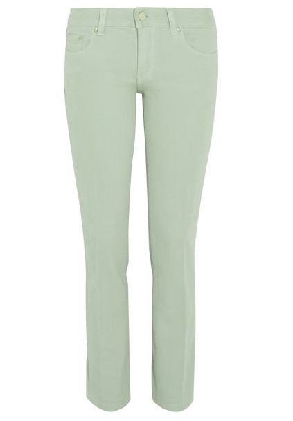Tory Burch High-Rise Skinny Jeans $185
