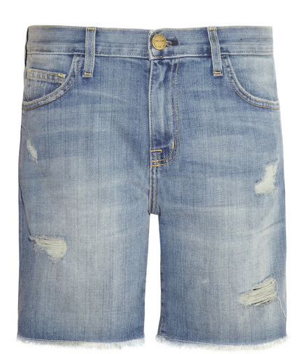 Current/Elliott The Slouchy Mid-Rise Cut-Off Stretch-Denim Shorts $180