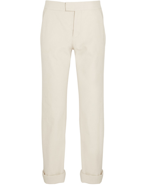 Isabel Marant Randall Cotton Boyfriend Pants $440