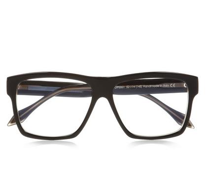 Victoria Beckham Square-Frame Acetate Optical Glasses $440