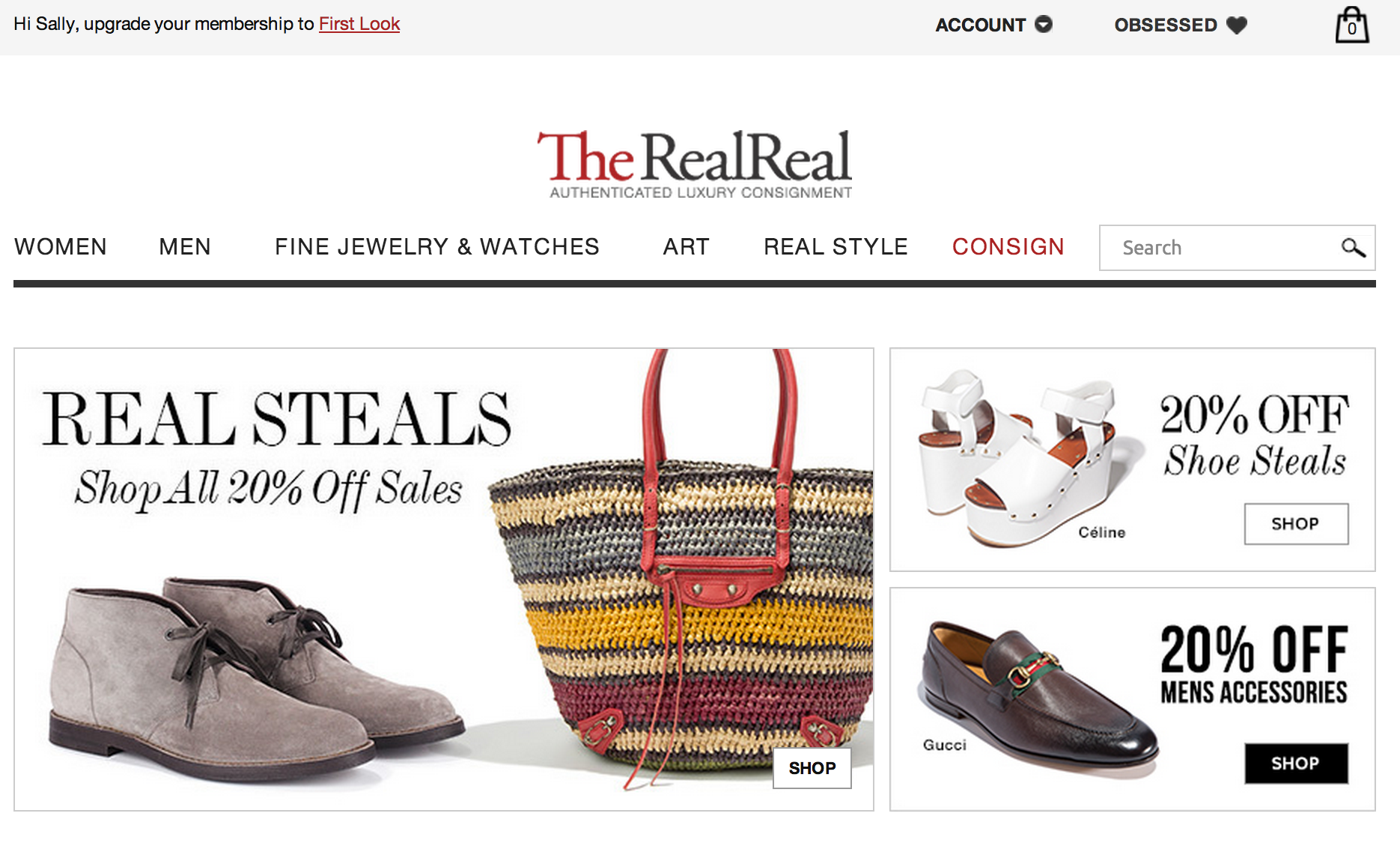 The Real Real Luxury Consignment