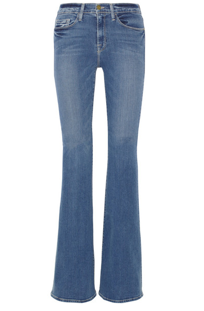 Frame Denim Forever Karlie High-Rise Flared Jeans $220
