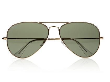 Ray-Ban Aviator Metal Sunglasses $145