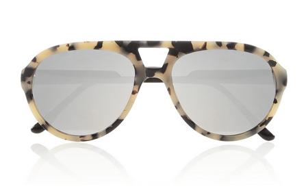 Stella McCartney Aviator-Style Acetate Mirrored Sunglasses $250