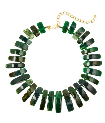 Kenneth Jay Lane Gold-Plated Necklace $90