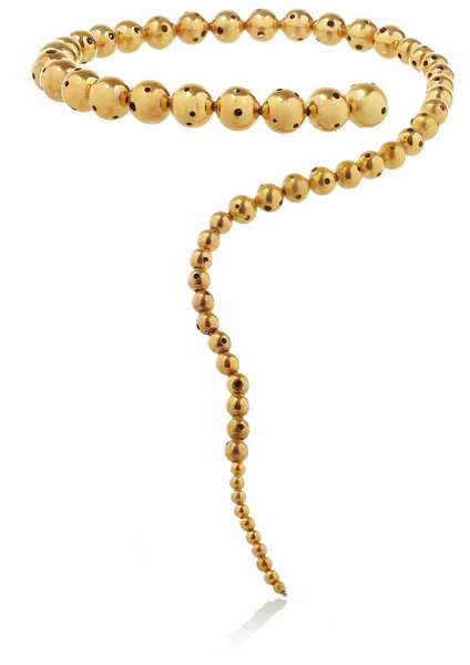 Paula Mendoza Glaucus Gold-Plated Necklace $650